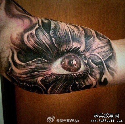 黑暗大美纹身图案分享展示图片