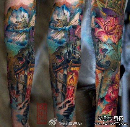 花臂纹身图案