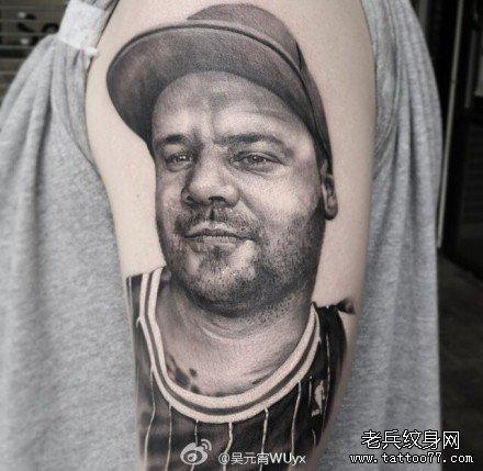 胖子纹身 图案分享展示