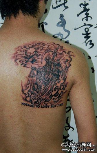 后背纹身图案大全