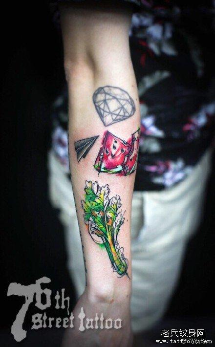 手臂纹身图案大全