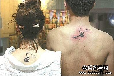 情侣生日纹身