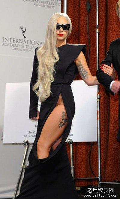 Lady Gaga纹身揭秘每处都有其含义