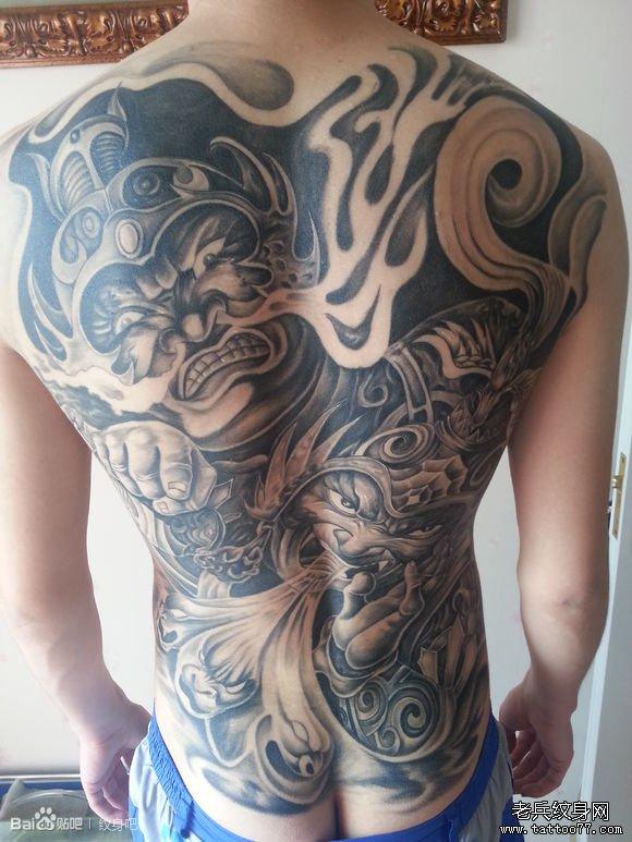 象神作为泰国的一种守护神其象征_纹身图案