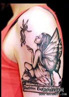 妖娆妩媚的妖精纹身图案的传说及讲究