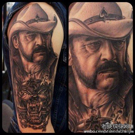 覆盖以前失败纹身的图案小清新男胳膊分享展示图片