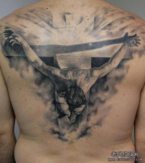 耶稣十字架纹身图案的含义图片