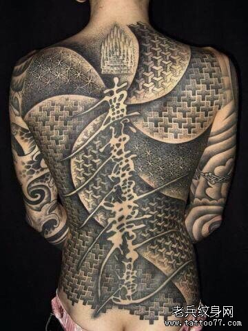纹身主页 纹身图案大全 满背纹身图案大全