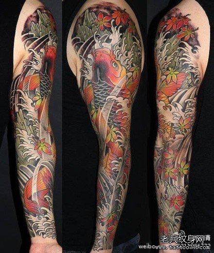 纹身 梅花 图案男 一朵展示
