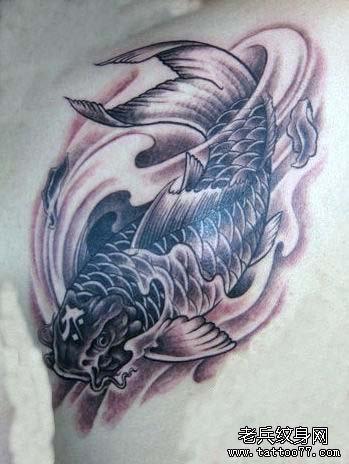 鲤鱼纹身图案的寓意