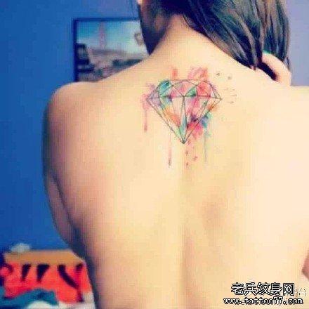 纹身图案 手背 玫瑰花展示