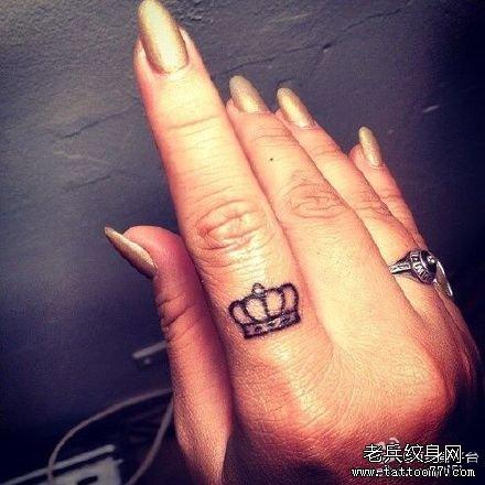 【2015】手指纹身戒指小图案
