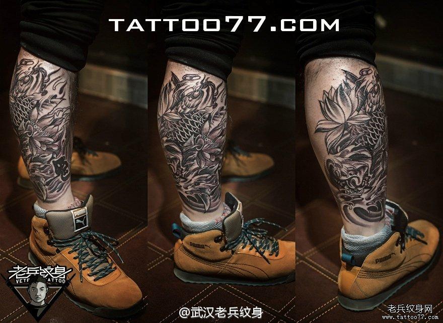 纹身图案大全          0 喜欢         浏览           小腿鲤