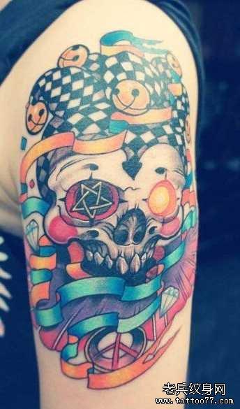 纹身主页 纹身图案大全 鬼骷髅纹身图案大全  武汉纹身店       纹身