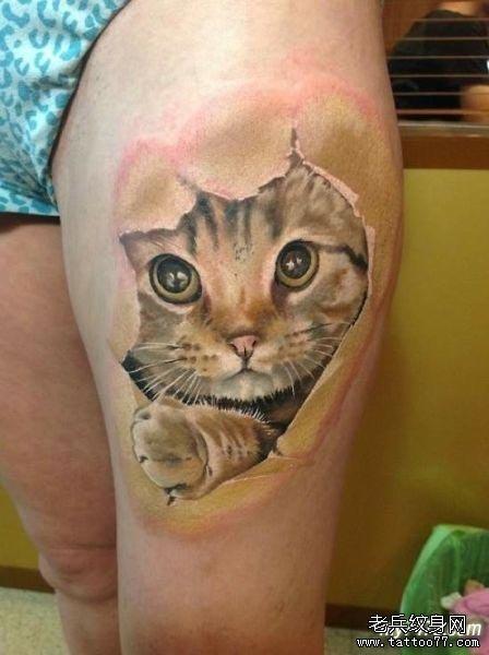 纹身图案中的极品——3D纹身