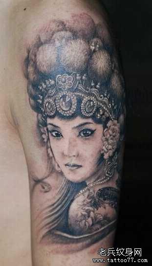 跟钱有关的纹身图案分享展示图片