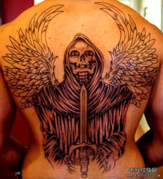 佛祖纹身图案