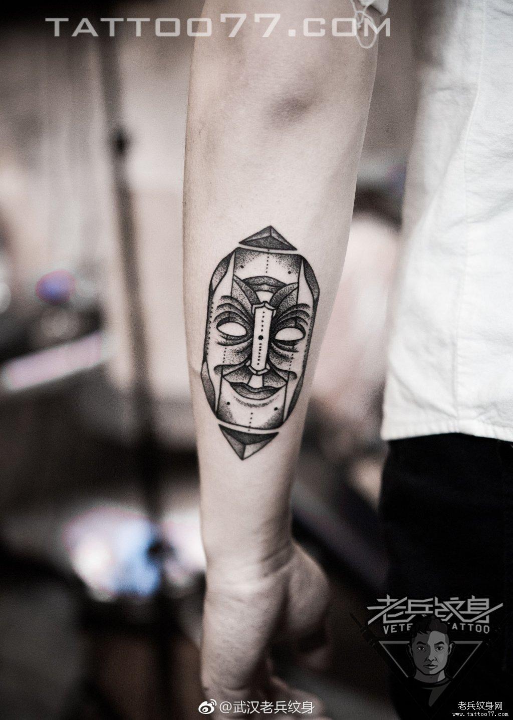 纹身图案大全          0 喜欢         浏览           手臂脸谱