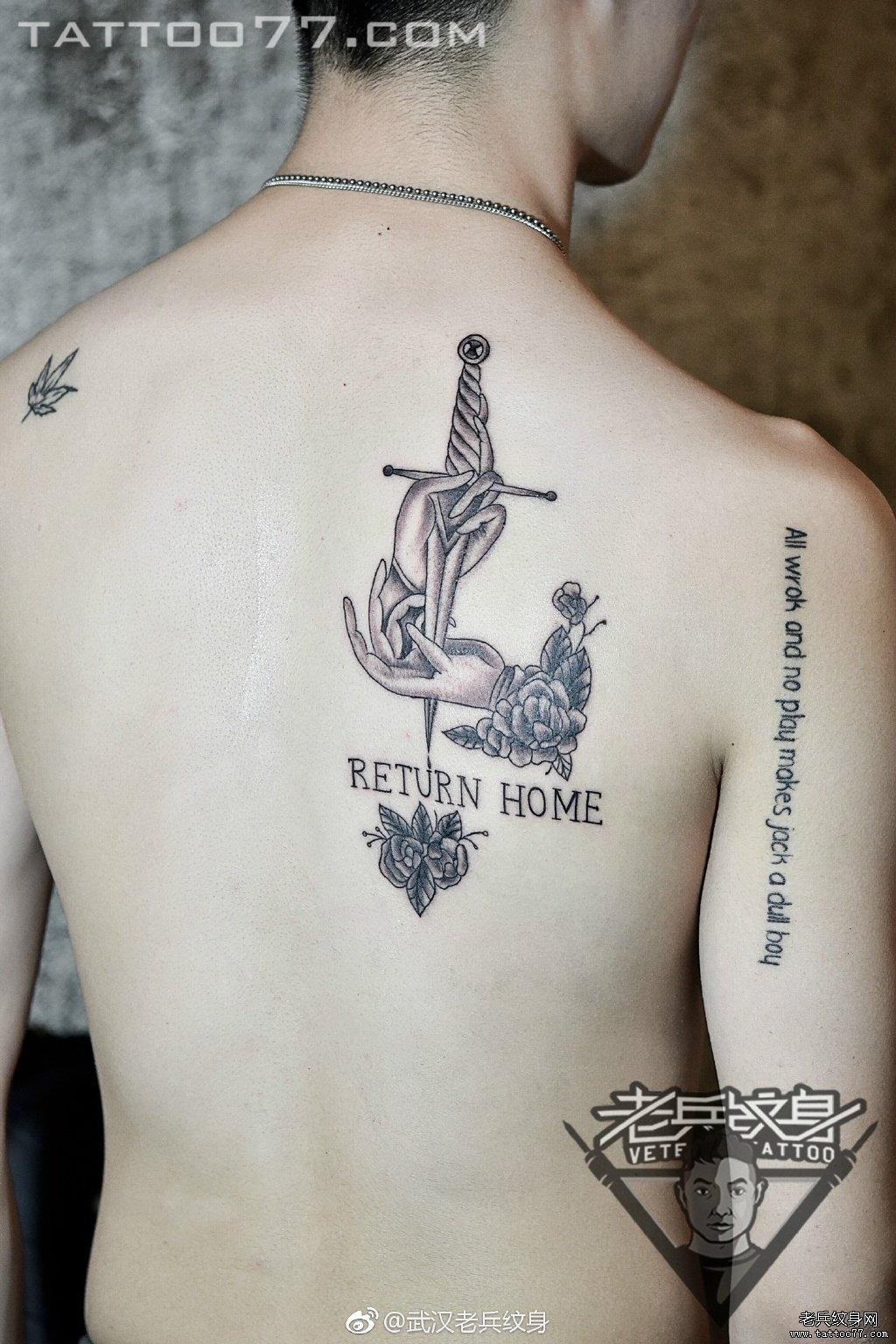 纹身主页 纹身作品集 黑灰作品  2017-05-05 12:04       武汉纹身店