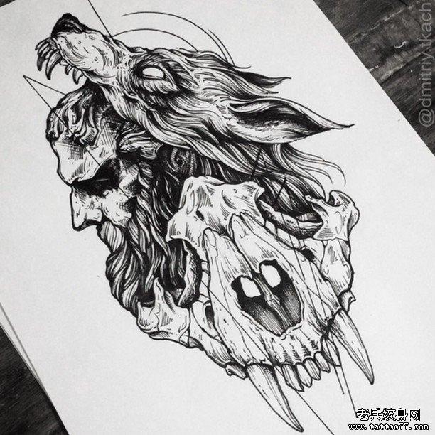"""或回复""""1""""访问千万素材的微官网,中国最强最全纹身图案尽在其中!"""