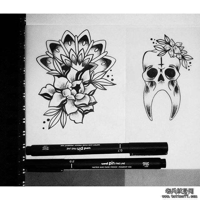 纹身主页 纹身图案大全 黑白纹身图案大全  武汉纹身店       纹身