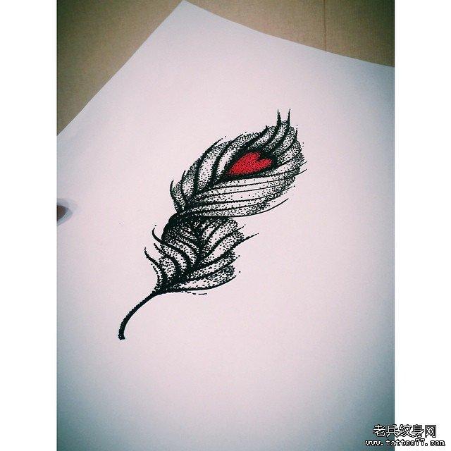 后背点刺皇冠纹身图案