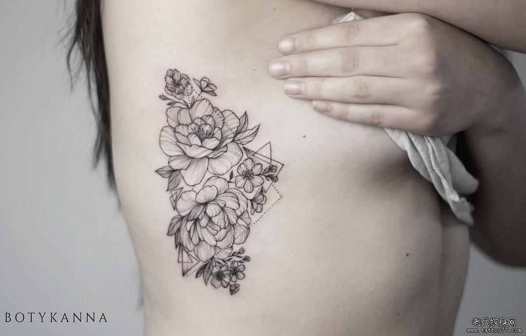 花腰纹身手稿分享展示图片