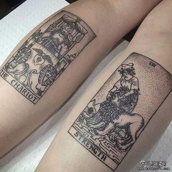 古老神秘的塔罗牌纹身,你get到了吗?