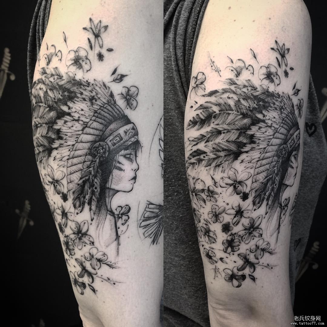 纹身主页 纹身图案大全 手臂纹身图案大全