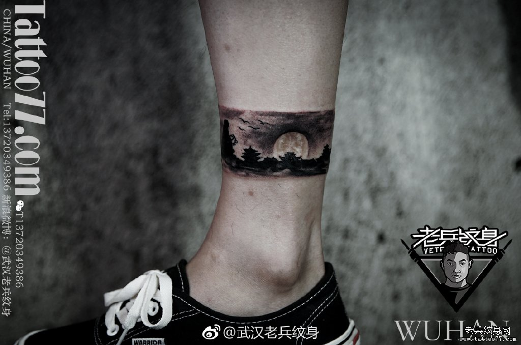 大臂简笔画纹身图案图片