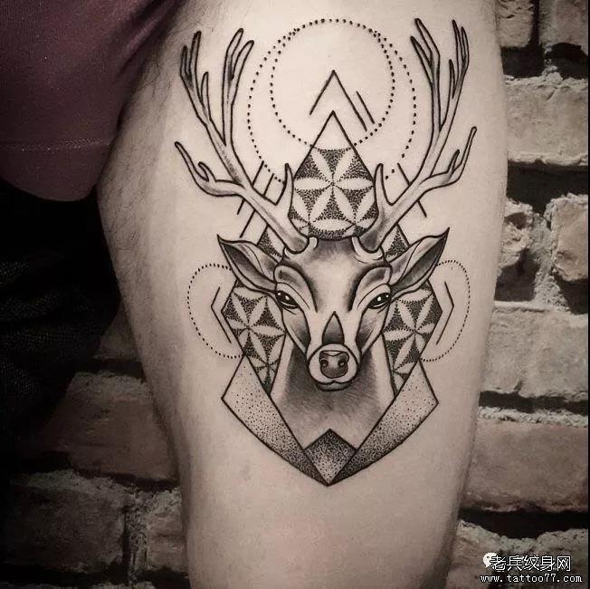 想要有意义又好看的纹身图案?这个图案就能满足你!图片